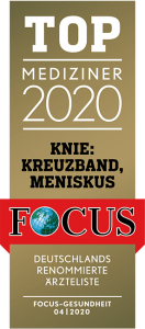 Top Mediziner 2020 Knie Kreuzband Meniskus